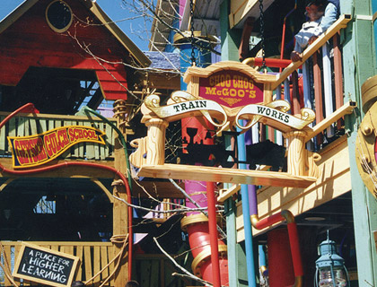 Themed Facade and Signage